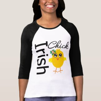 Irish Chick Tee Shirt
