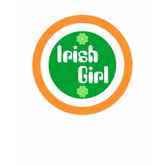 Irish Girl - T-shirt shirt