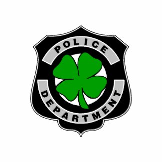 Irish Police Officers and Law Enforcement T-Shirts