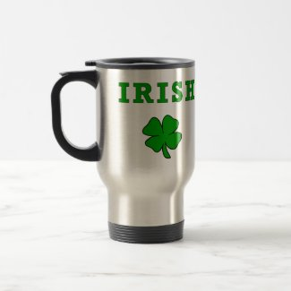 IRISH Shamrock - Customized mug