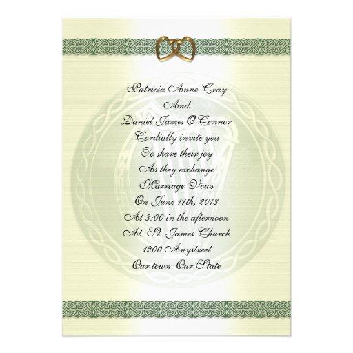 Irish Wedding Invitations