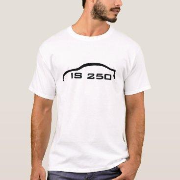 IS250 Black Silhouette Logo T-Shirt