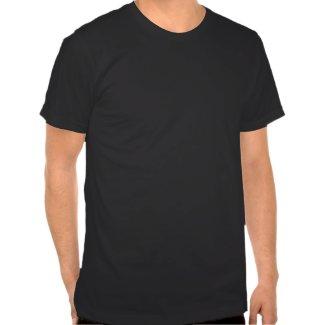 iSand / iGolf appel silv dbl logo blk tee shirt