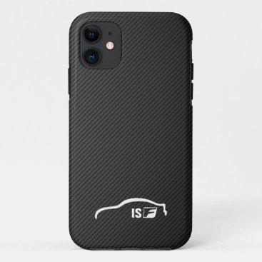 ISF white brushstroke logo iPhone 11 Case