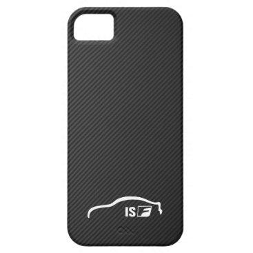 ISF white brushstroke logo iPhone SE/5/5s Case