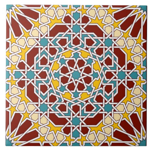 Islamic Design In Art Tiles