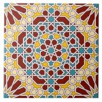 Islamic Design In Art Tiles