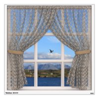 Window View Wall Decals & Wall Stickers | Zazzle