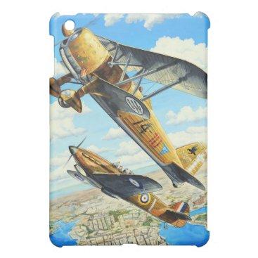 Italian World War II Fiat CR.42 biplane fighter Cover For The iPad Mini