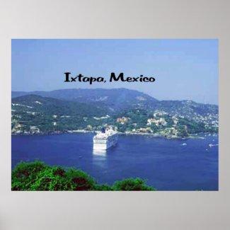 Ixtapa, Mexico Poster