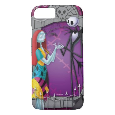 Jack and Sally Holding Hands iPhone 8/7 Case