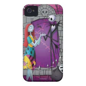 Jack and Sally Holding Hands iPhone 4 Case