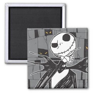 Jack Skellington | Spooky Eye Background Magnet