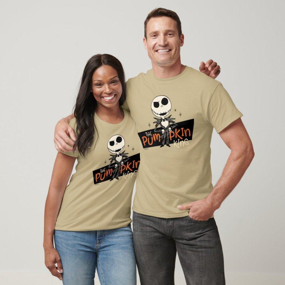 Jack Skellington the Pumpkin King T-Shirt