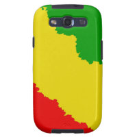 Jagged Rasta Stripes Galaxy SIII Case