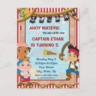 pirate birthday invitations zazzle