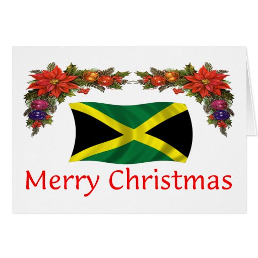 Jamaica Christmas Card Zazzle