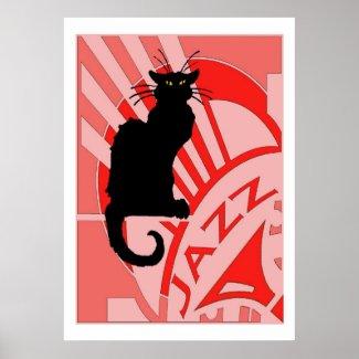 Jazz Cat Print