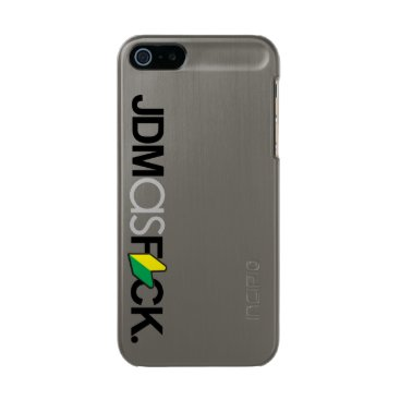 jdmasfck - Mad JDM son! Gummetal Metallic Phone Case For iPhone SE/5/5s