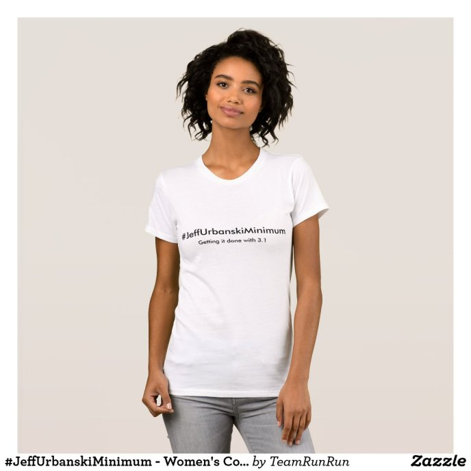 #JeffUrbanskiMinimum - Women's Cotton T-Shirt