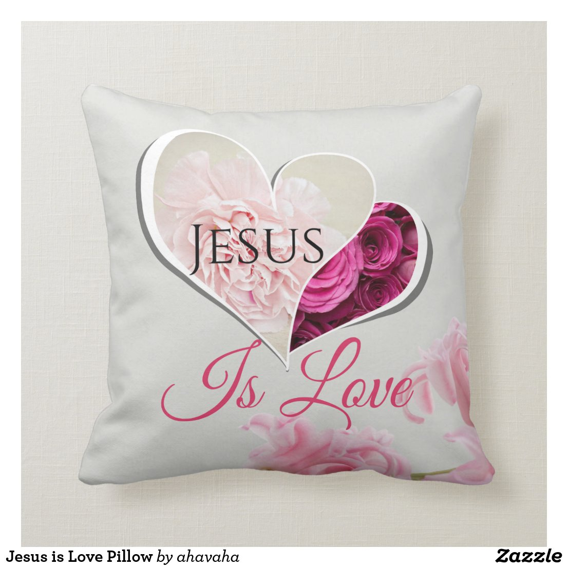 Jesus is Love Pillow