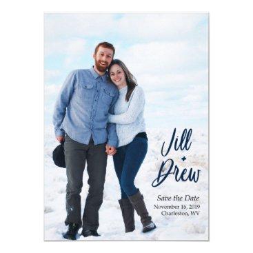 Jill's Wedding Save the Date Invitation