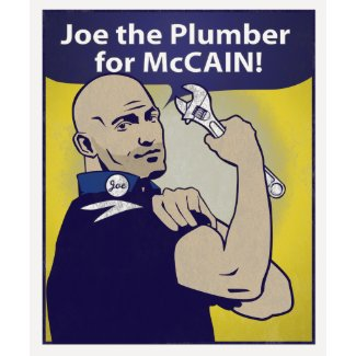 Joe the PLumber T-Shirt shirt