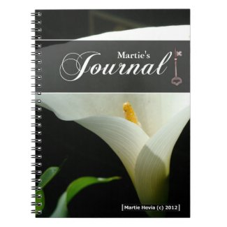 Journal Notebook - Calla Lily