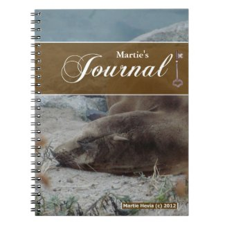 Journal Notebook - Sea Lion