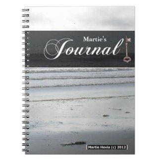 Journal Notebook - Silver Beach