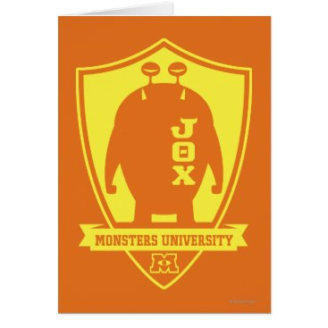 JOX -Monsters University Card