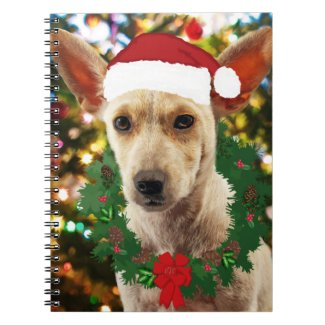 Joy to thee Puppy Spiral Note Books