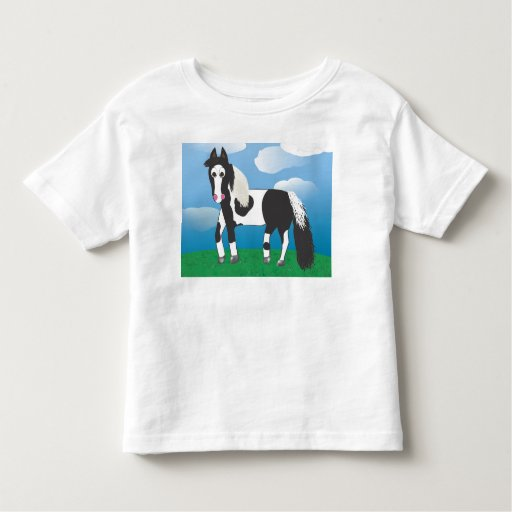 JR. Paint horse Toddler T-shirt