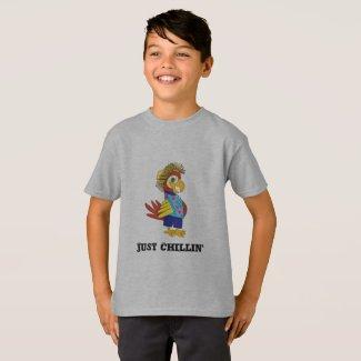 Just Chillin' Island Parrot T-Shirt