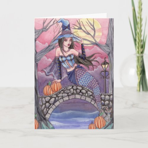 Kalei - Halloween Mermaid Card