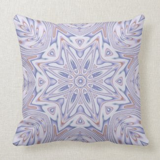 Kaleidoscope 2 (lavender) abstract Pillows mojo_throwpillow