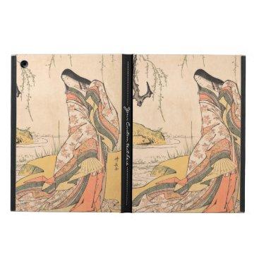 Kanjo A Court Lady Torii Kiyonaga japanese beauty iPad Air Cover