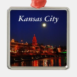 Kansas City Plaza Christmas Lights Ornament