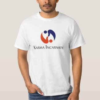 Karma Incarnate white t-shirt