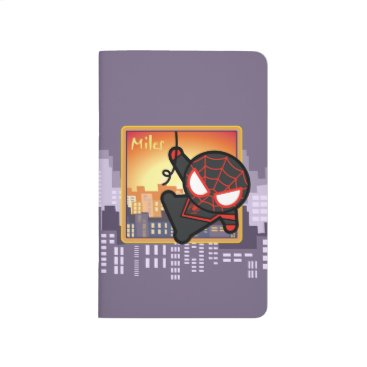 Kawaii Miles Morales City Sunset Journal