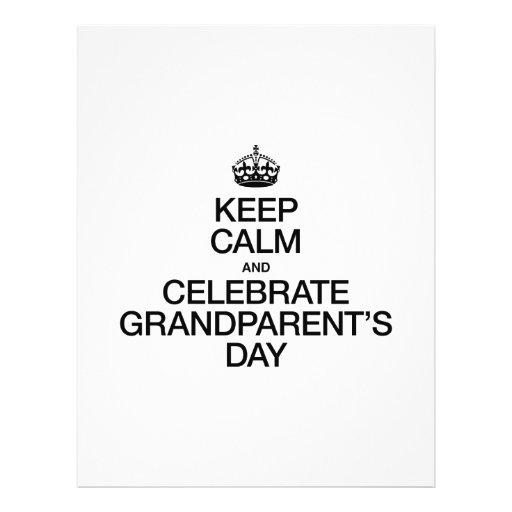 Grandparents Day Flyers, Grandparents Day Flyer Templates