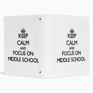 Middle School Binders, Custom Middle School 3 Ring Binder
