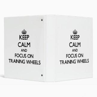 Training Binders, Custom Training 3 Ring Binder Designs