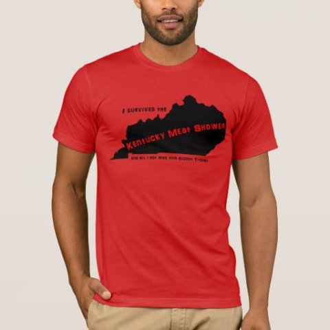 Kentucky Meat Shower T-shirt