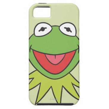 Kermit the Frog Cartoon Head iPhone SE/5/5s Case