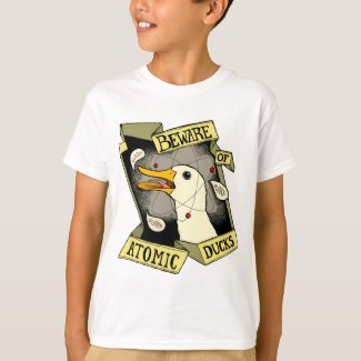 Kids' Atomic Duck light T-shirt