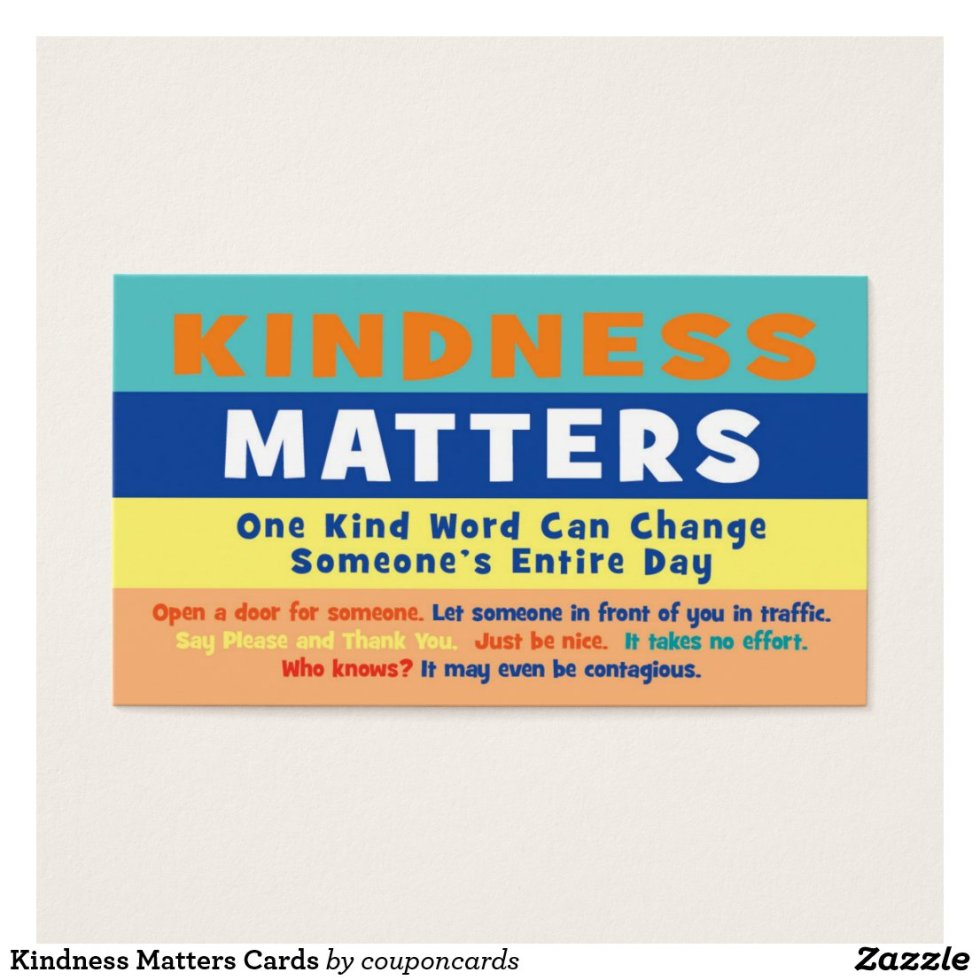 Kindness Matters Cards