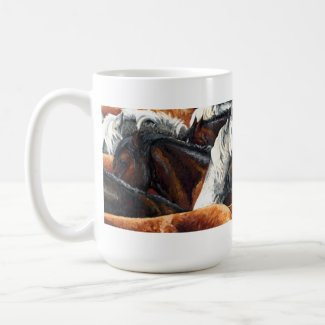 Kindred Spirits - Horse Herd Coffee Mug mug