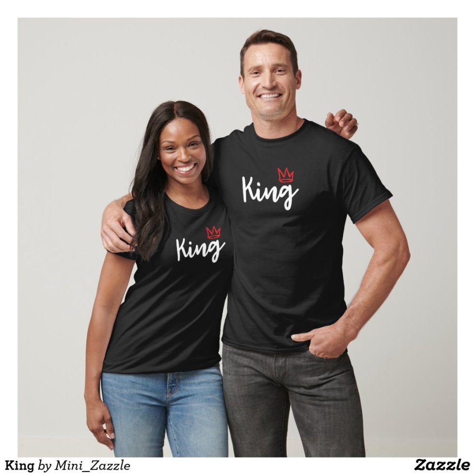Best King and Queen Couple T-Shirt Cheap