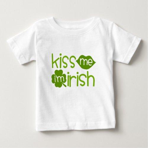 Kiss Me I'm Irish Toddler T-shirt